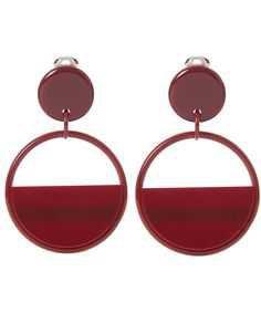 Red Marni Earrings - Pinterest