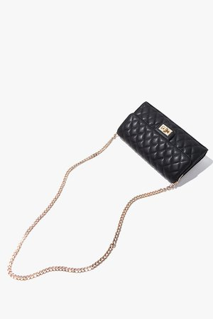 Quilted Faux Leather Crossbody Bag | Forever 21
