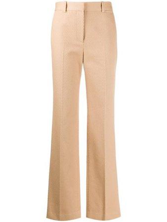 Victoria Beckham High-Waisted Tailored Trousers Aw20   Farfetch.Com