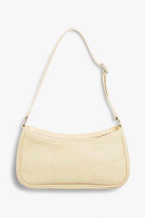 Small hand bag - Beige - Bags - Monki WW