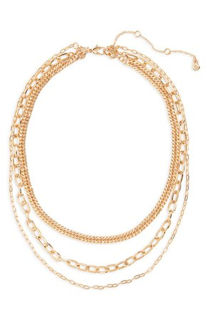 BP. Layered Chain Necklace | Nordstrom
