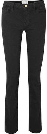 Le Mini Boot Mid-rise Bootcut Jeans - Black