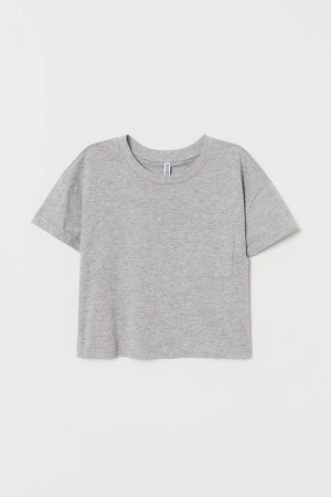 Short T-shirt - Gray