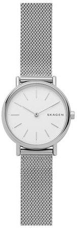 Signatur Slim Mesh Strap Watch, 30mm