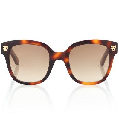 Occhiali Da Sole Panthère De Cartier   Cartier Eyewear Collection - Mytheresa