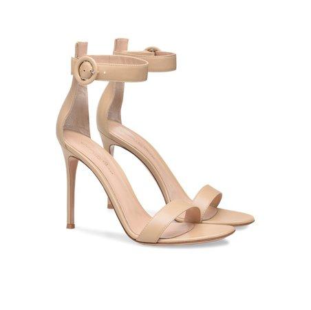 gianvito rossi portofino sandal beige
