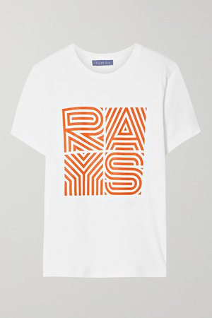 Paradised | Rays printed cotton-jersey T-shirt | NET-A-PORTER.COM