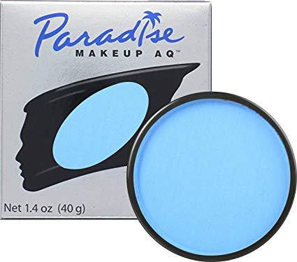 Amazon.com : Mehron Makeup Paradise Makeup AQ Face & Body Paint (1.4 oz) (Light Blue) : Childrens Art Paints : Beauty