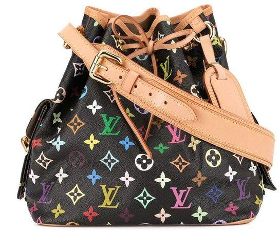 Pre-Owned Petit Noe drawstring shoulder bag