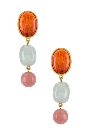 Lizzie Fortunato Sundream Earrings in Multi | REVOLVE