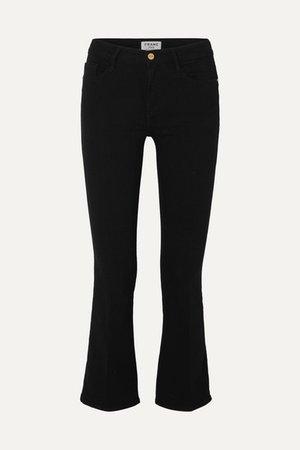FRAME | Le Crop Mini mid-rise bootcut jeans | NET-A-PORTER.COM