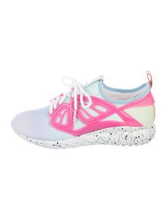 Sophia Webster Fly By Butterfly Sneakers w/ Tags - Shoes - W9S23005 | The RealReal