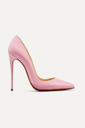 pink christian louboutin high heels