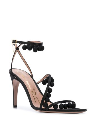 Oscar De La Renta Asymmetric Sandals - Farfetch