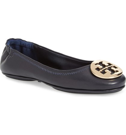 Tory Burch 'Minnie' Travel Ballet Flat (Women) | Nordstrom