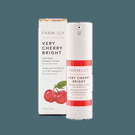 Very Cherry Bright 15% Clean Vitamin C Serum with Acerola Cherry | Farmacy Beauty