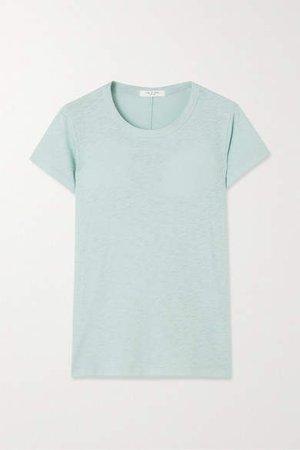 The Tee Slub Pima Cotton-jersey T-shirt - Blue