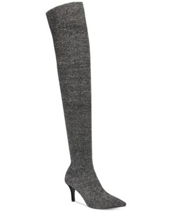 I.N.C. Women's Briella Sock Over-The-Knee Boots
