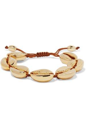 Tohum | Large Puka gold-plated bracelet | NET-A-PORTER.COM