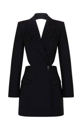 Alexis Backless Wool Blazer Dress By Anna Quan   Moda Operandi