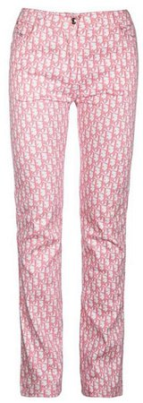 CHRISTIAN DIOR Diorissimo Girly Embellished Jeans