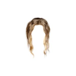 blonde hair png bangs ponytail buns