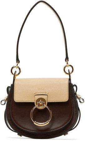 Brown & Beige Small Tess Bag