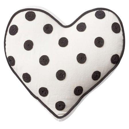 The Emily & Meritt Heart Sequin Pillow   PBteen