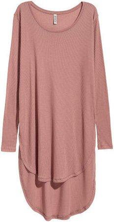 Long Jersey Top - Pink
