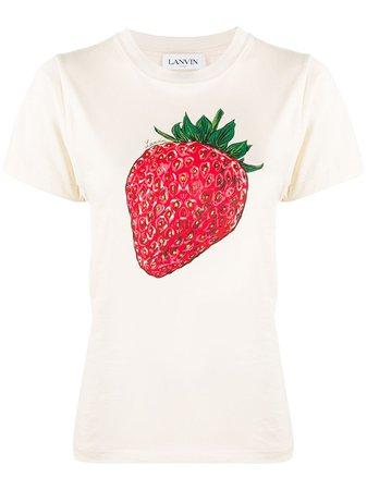 LANVIN t-shirt à Imprimé Graphique - Farfetch
