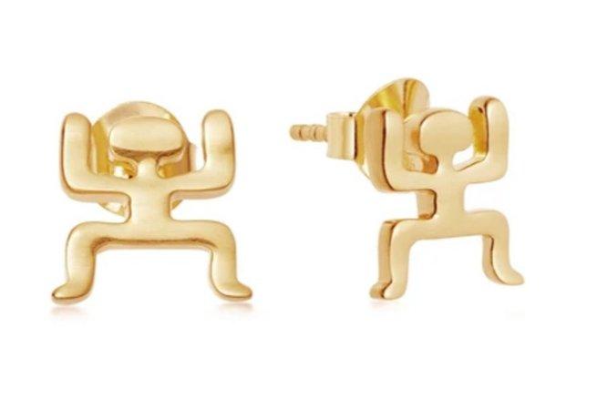 missoma | gold aurelio earrings