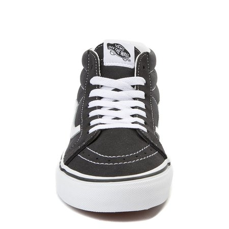 Vans Sk8 Mid Skate Shoe - Dark Gray | Journeys