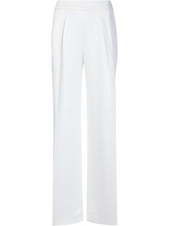 Carolina Herrera, White Wide Leg Pants