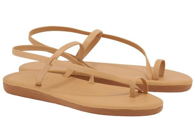 EUTERPE NATURAL Sandals by Ancient-Greek-Sandals.com