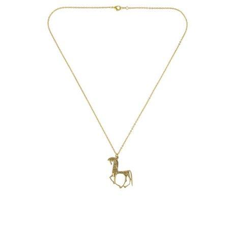 Greek horse necklace the British Museum shop
