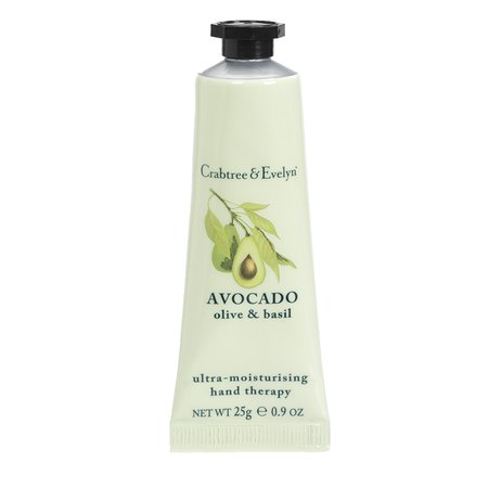 avacado hand therapy lotion crabtree Evelyn