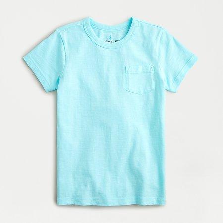 J.Crew: Kids' Garment-dyed Pocket T-shirt For Boys