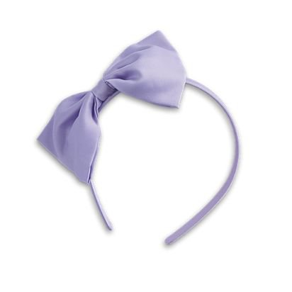 Purple Bow Headband $4.00