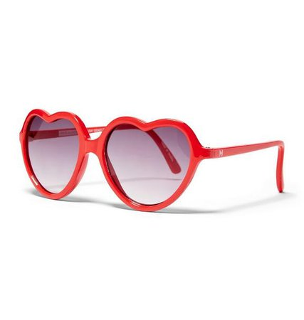 Accessories Valentine Red Heart Sunglasses by Janie and Jack