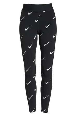 Nike NSW Allover Print Logo Leggings | Nordstrom