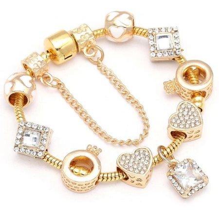 Pandora Bracelet Gold Styling - Unique Leather Bracelets