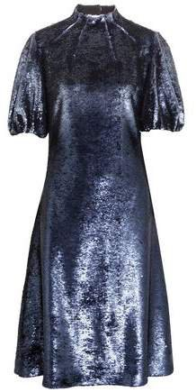 Amara Cutout Sequined Tulle Dress