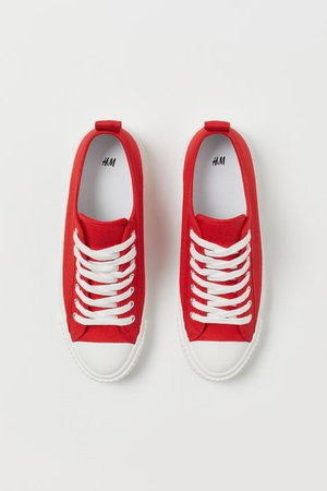 Sneakers - Red - Ladies | H&M US