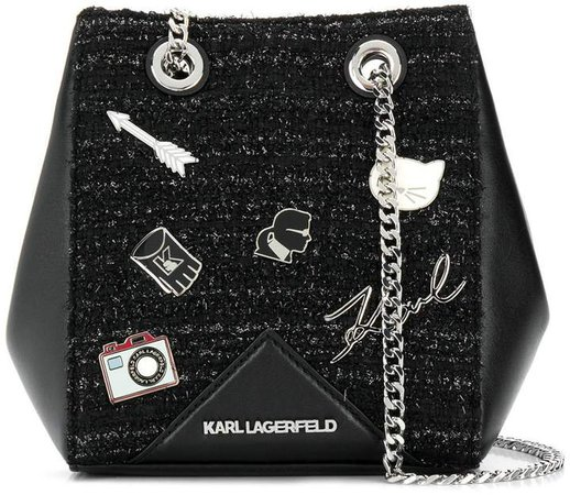 K/Klassik Pins bucket bag