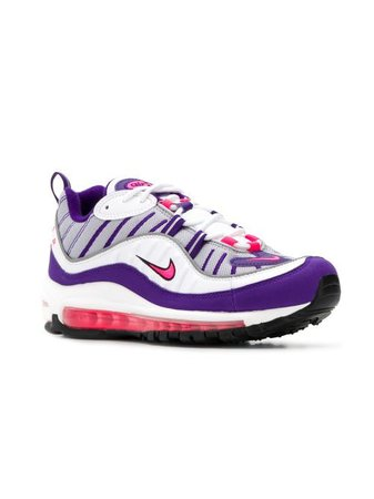 Shop white & purple Nike Nike Air sneakers with Express Delivery - Farfetch