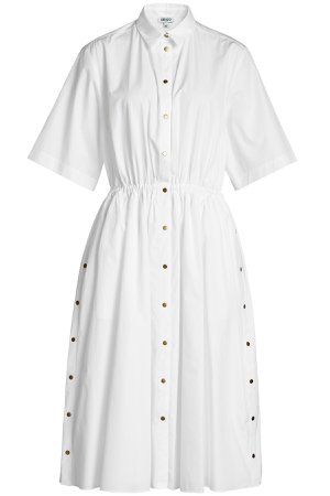 Cotton Dress with Snappers Gr. FR 42