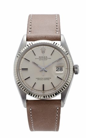 Vintage Watches Rolex Datejust 36mm Silver Dial