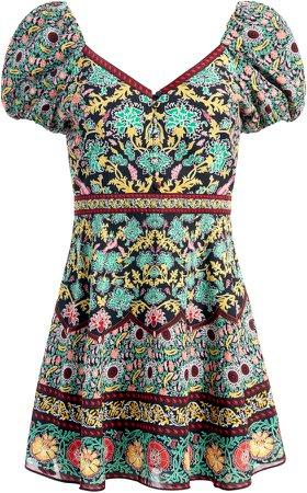Dana Puff Sleeve Mini Dress