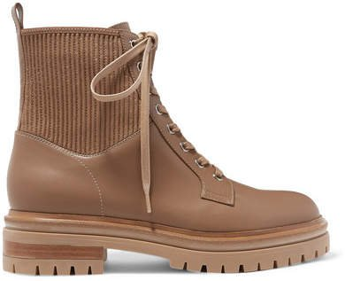Ceonene 40 Leather Ankle Boots - Camel