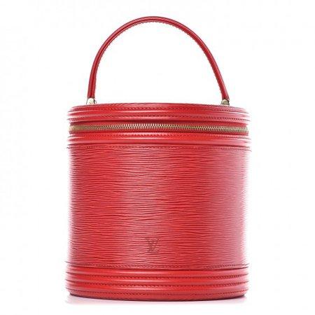 LOUIS VUITTON Epi Cannes Castilian Red 418221